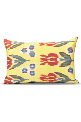 Pebble Poppy Pillow