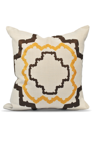 Silk Ikat Tulip Pillow