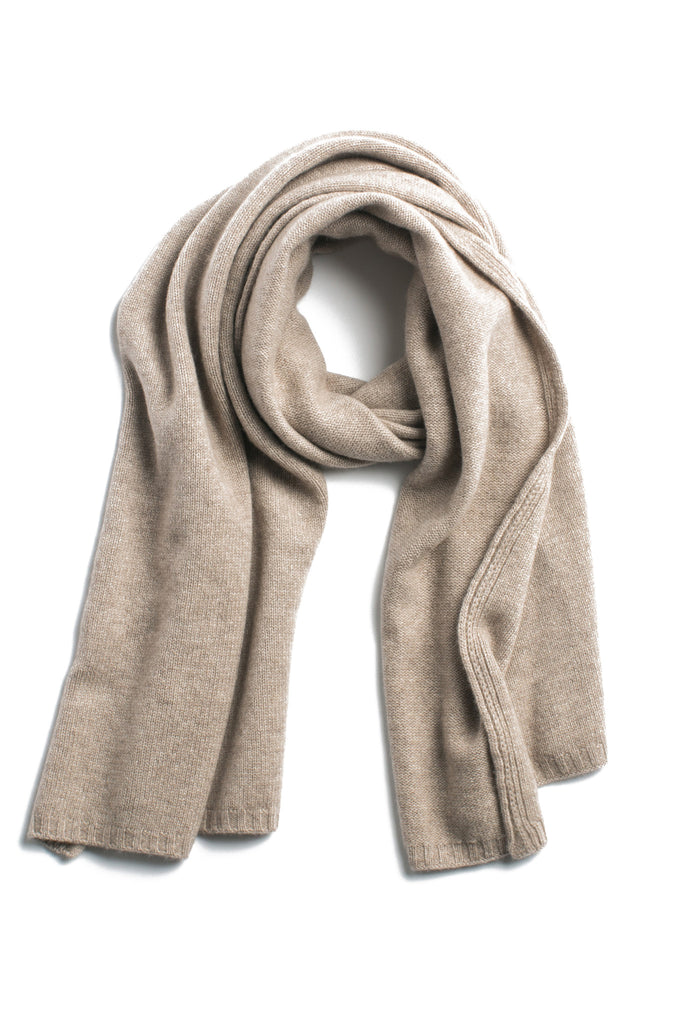 The Classic Convertible Scarf-Tan