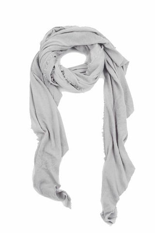 Le Tee Super Soft Scarf in Light Cloud