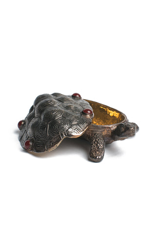 Agate Turtle Jewelry Box