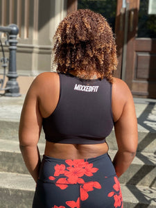 MIXXEDFIT ORIGAMI ESSENTIAL SPORTS BRA