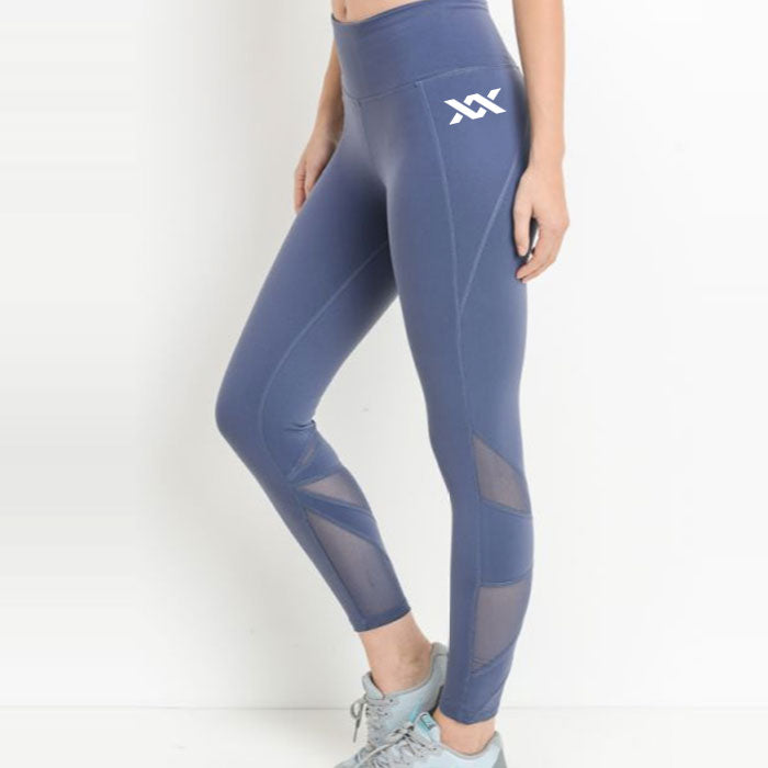 LAST CALL | MIXXEDFIT LEGGINGS | BLUE GRAY