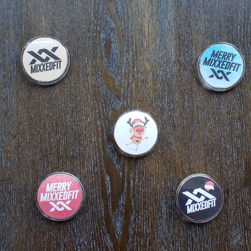 MIXXEDFIT ACCESSORY HOLIDAY BUTTONS
