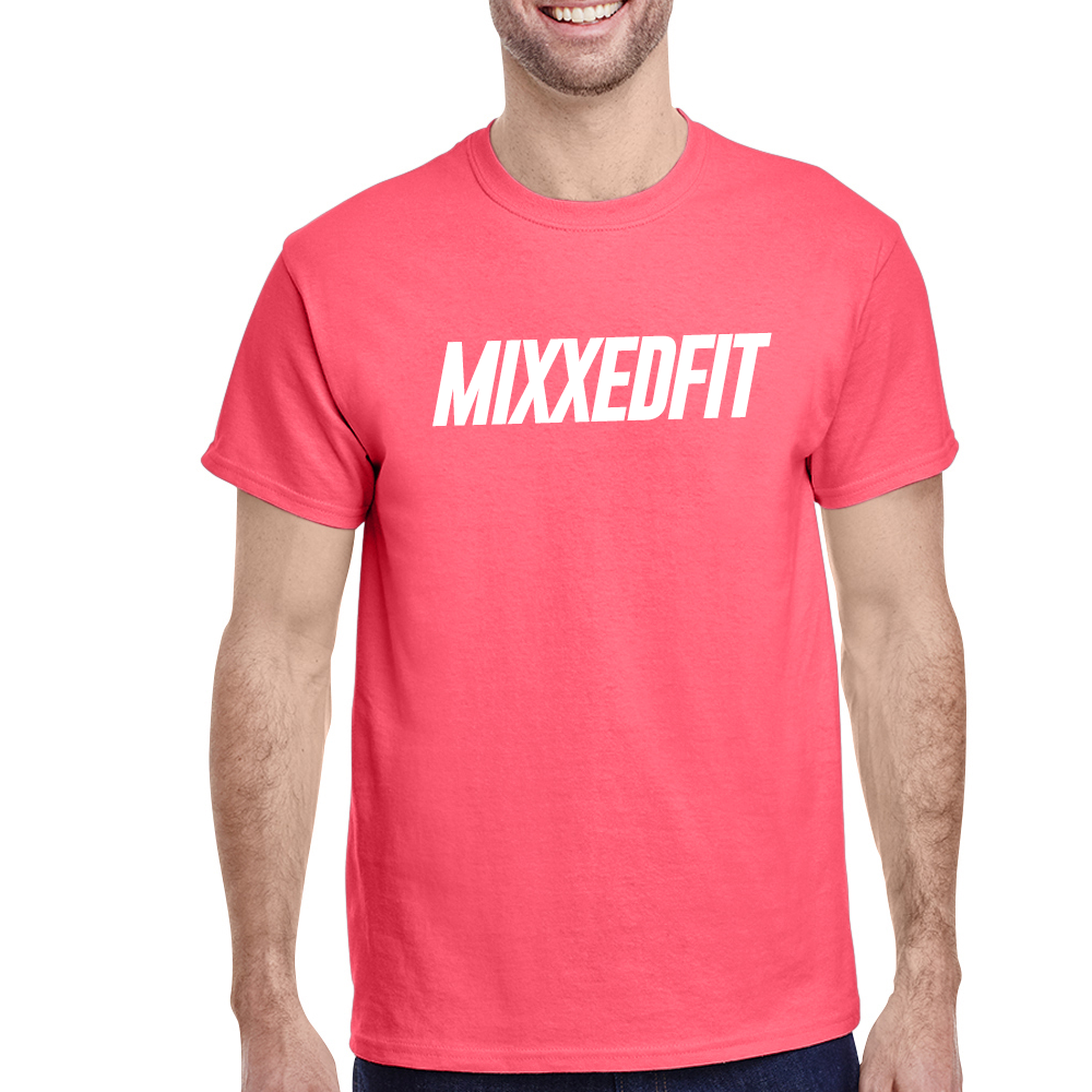 MIXXEDFIT® CLASSIC TEE | CORAL