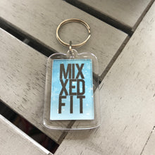 MIXXEDFIT ACCESSORY HOLIDAY KEYCHAIN