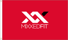 Limited Edition MixxedFit® XX Logo Satin Blackout Banner - RED