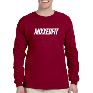 MIXXEDFIT® CLASSIC LONG SLEEVE | CRANBERRY