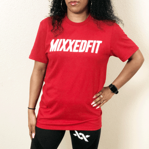 MIXXEDFIT® GO BOLD TEE | CLASSIC RED