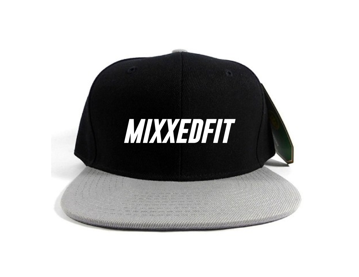 MIXXEDFIT® SNAP BACK BLACK & GRAY