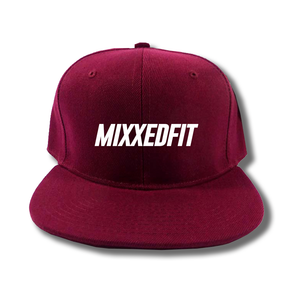 MIXXEDFIT® BURGUNDY SNAP BACK