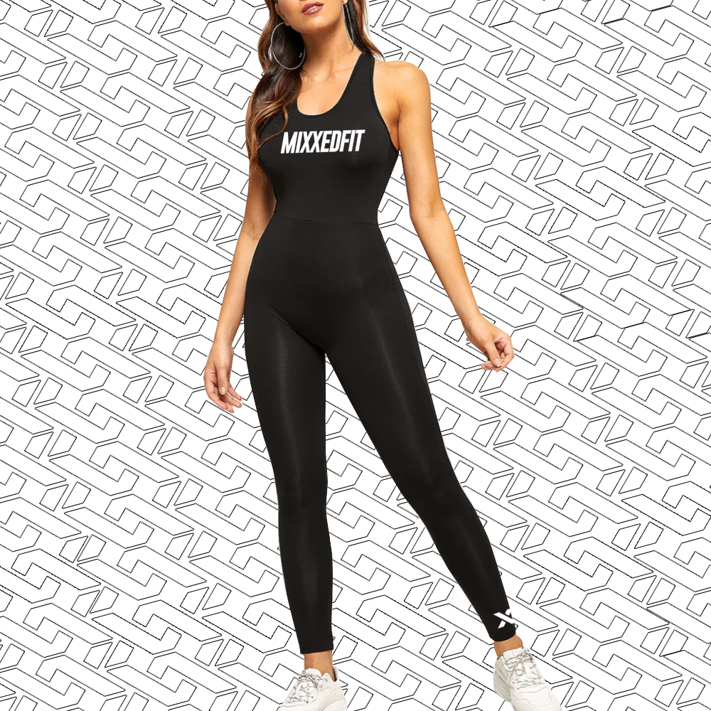 [COMING SOON] MIXXEDFIT® JUMPSUIT | BLACK
