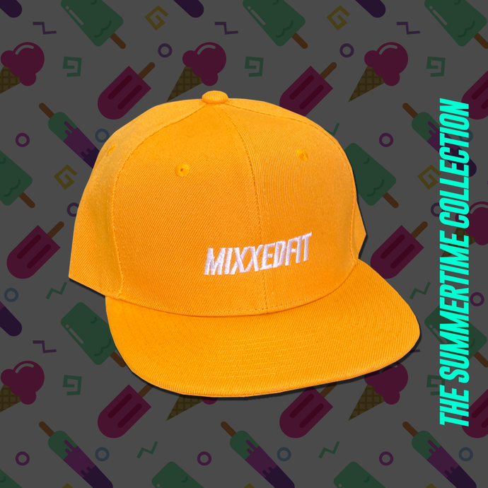 MIXXEDFIT® SNAP BACK | YELLOW