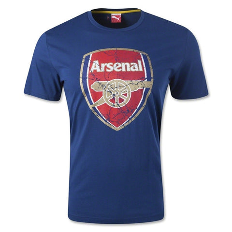 Arsenal Fan T-Shirt (Navy)