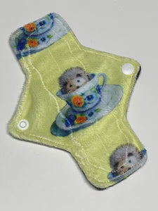 7 Inch Narrow Style Minky Topped Pantyliner