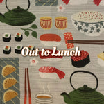 Out to Lunch - Quilter's Cotton