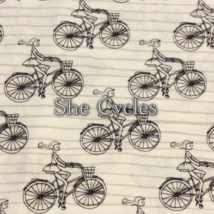 She Cycles - Quilter's Cotton