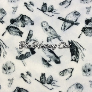 The Hooting Owl - Specialty Minky Print