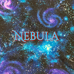 Limited Edition! Nebula - Quilter's Cotton - Featuring Glow in the Dark Snaps!