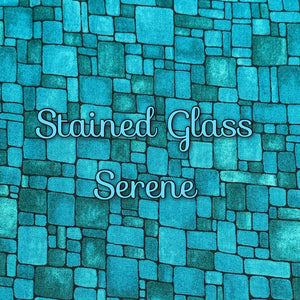 Stained Glass Serene - Quilter's Cotton