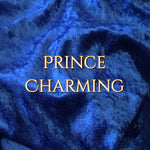 Prince Charming - Luxury Crushed Velvet - Featuring Black Backing and Yellow Star Snap