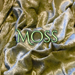 Moss - Luxury Crushed Velvet