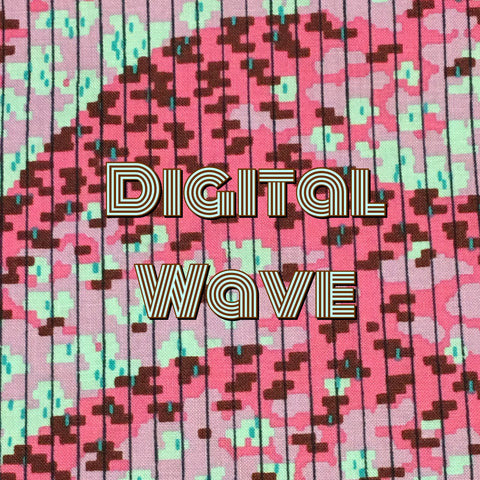Custom Order - Digital Wave - Quilter's Cotton