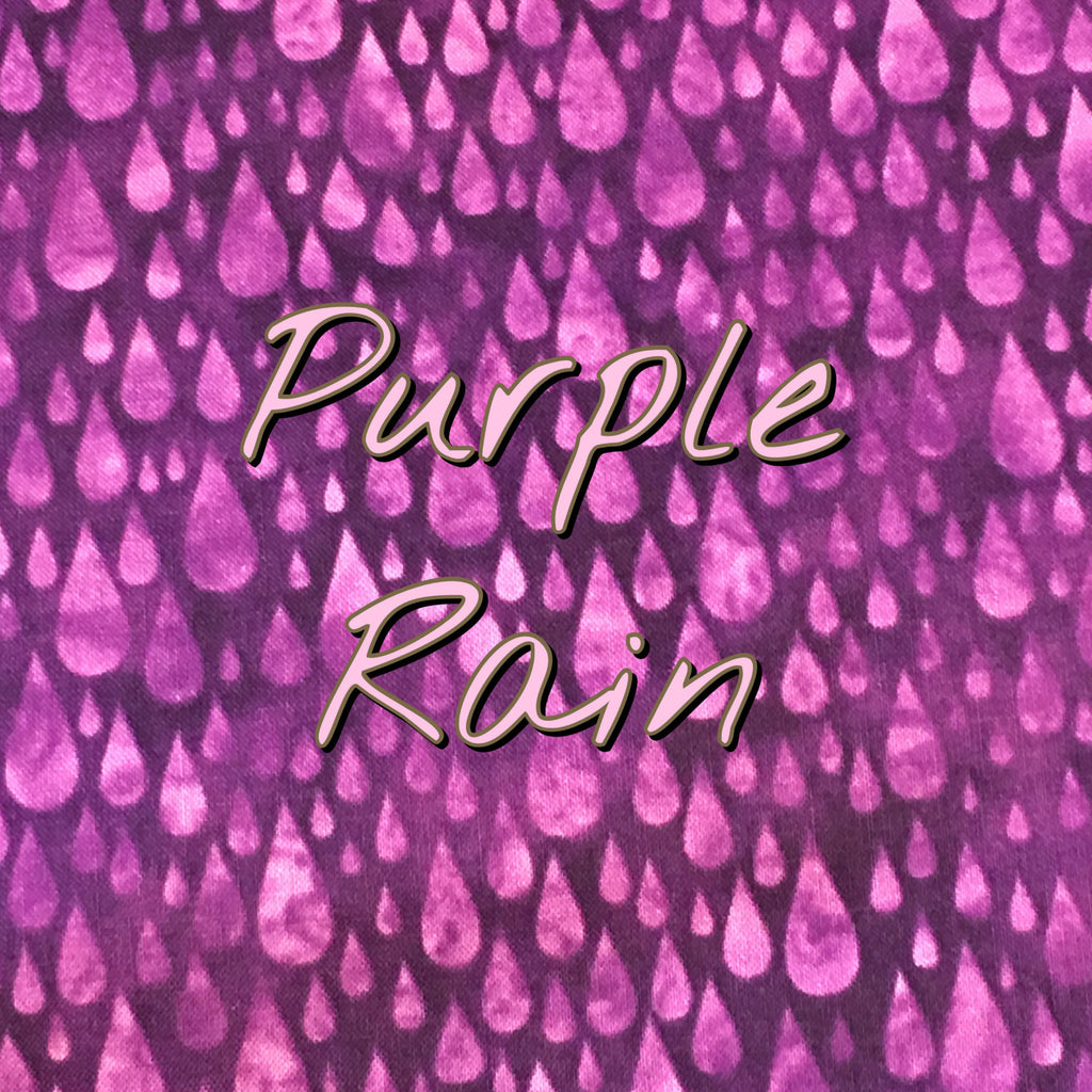 Custom Order - Purple Rain - Quilter's Cotton
