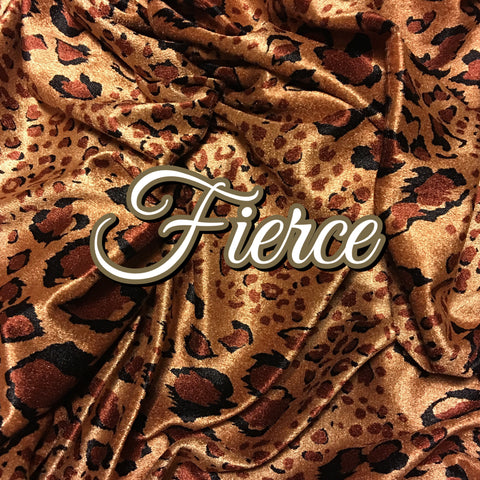 Custom Order - Luxury Crushed Velvet - Fierce