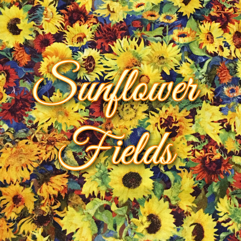Custom Order - Sunflower Fields - Quilter's Cotton