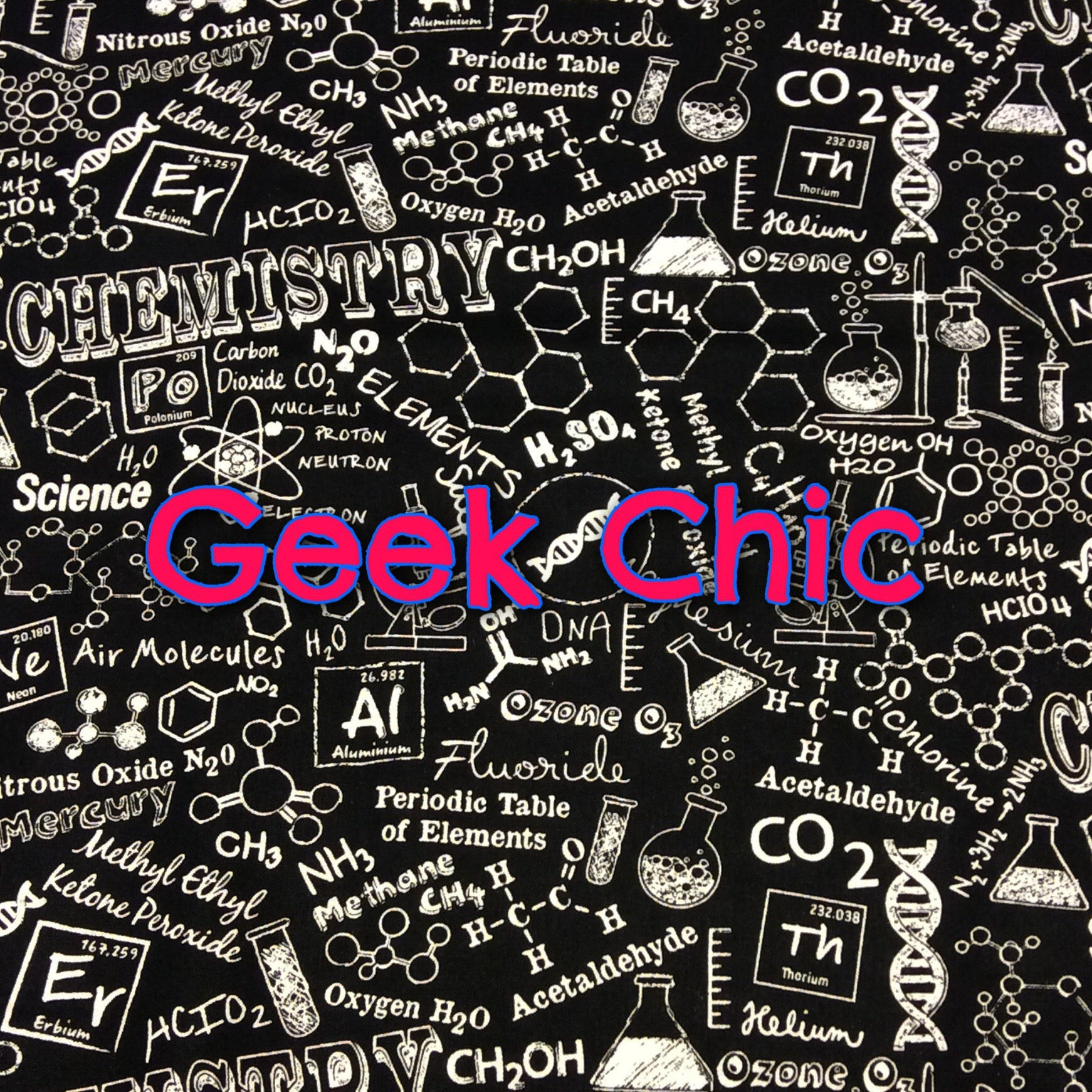 Geek Chic - Quilter's Cotton