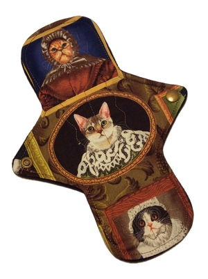 The Portraits of Meow Manor - 9 Inch Cotton Topped NINJA (moderate-heavy) Pad