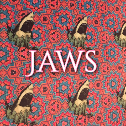 Custom Order - BRAND NEW PRINT! Specialty Minky - Jaws
