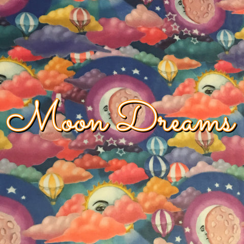 Custom Order - BRAND NEW PRINT! Specialty Minky - Moon Dreams