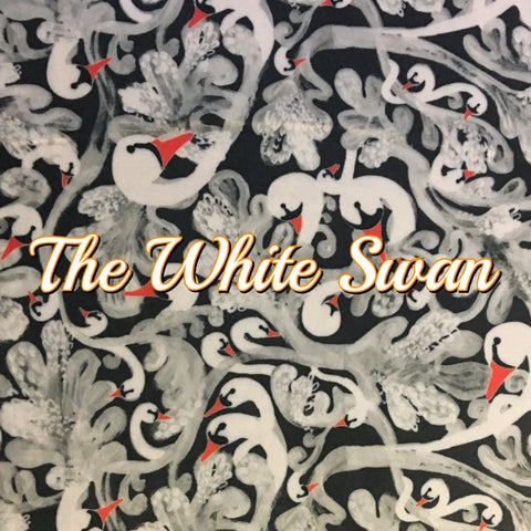 Custom Order - BRAND NEW PRINT! Specialty Minky - The White Swan