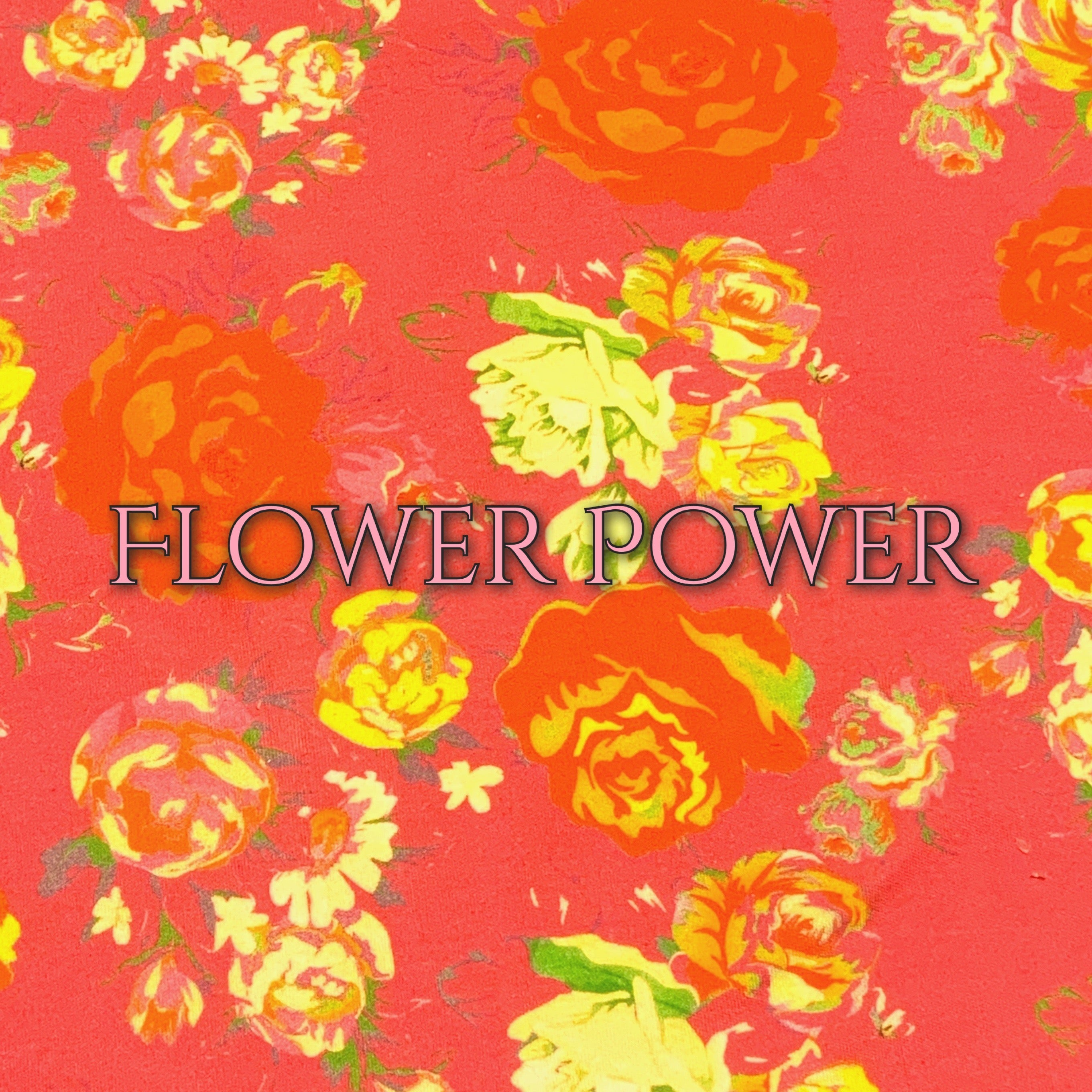 Flower Power - Organic Cotton Knit