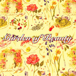 Garden of Beauty - Organic Cotton Knit