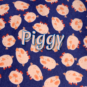 Piggy - Cotton Flannel