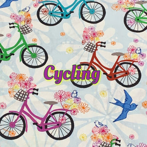 Love My Cycle - Quilter's Cotton