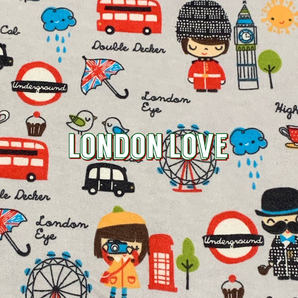 London Love - Cotton Flannel