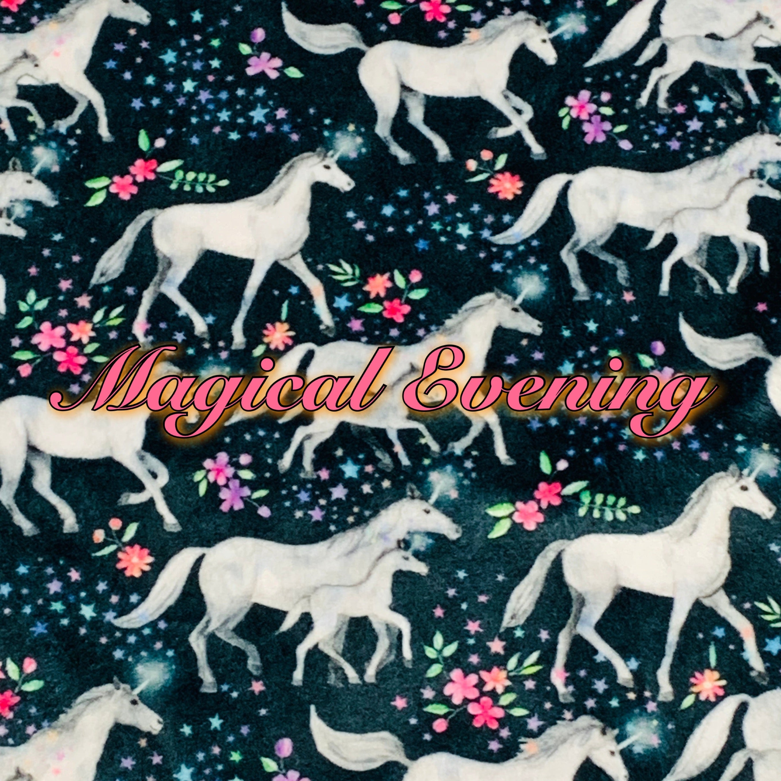 Magical Evening - Specialty Minky Print