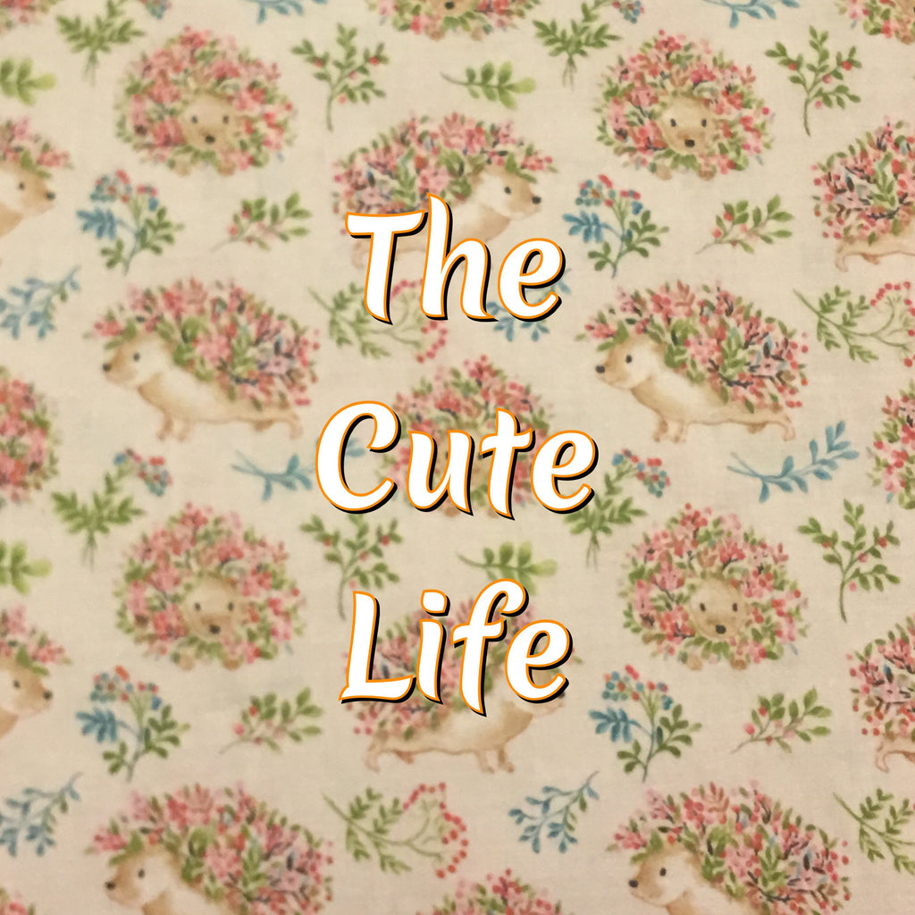 Custom Order - The Cute Life - Quilter's Cotton
