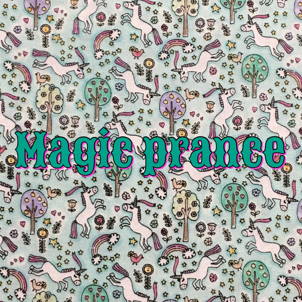 Custom Order - Magic Prance - Quilter's Cotton