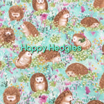 Happy Hedgies - Quilter's Cotton