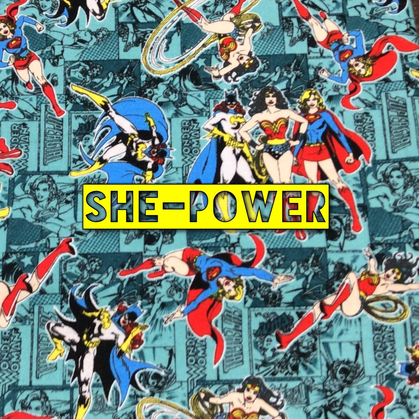 She-Power - Quilter's Cotton
