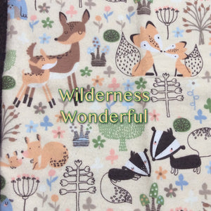Wilderness Wonder - Cotton Flannel