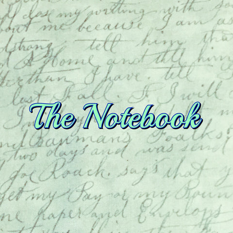 Custom Order - The Notebook - Quilter's Cotton