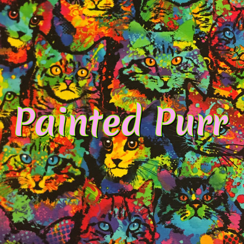 Custom Order - Painted Purr - Specialty Quilter's Cotton