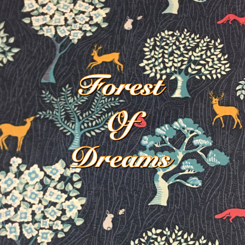 Custom Order - Forest of Dreams - Quilter's Cotton