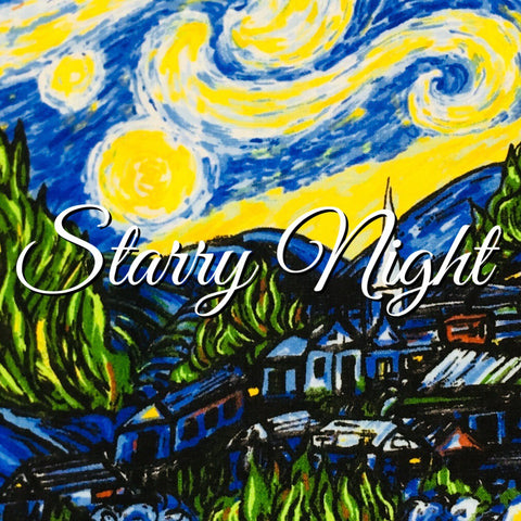 Custom Order - Starry Night - Quilter's Cotton